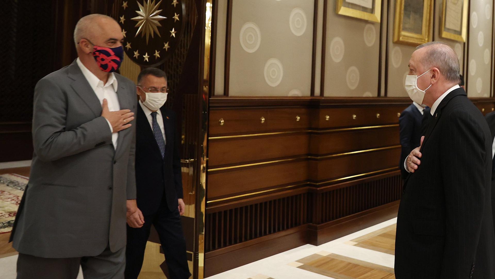 Satanak, turski predsjednik, Erdogan, Edi Rama, Albnski premijer