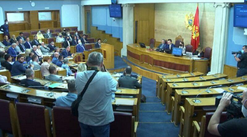 Skupština, Crna Gora, Razriješnje , ministar Leposavić