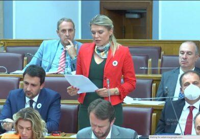 Skupština, Crna Gora, rezolucija o Srebrenici