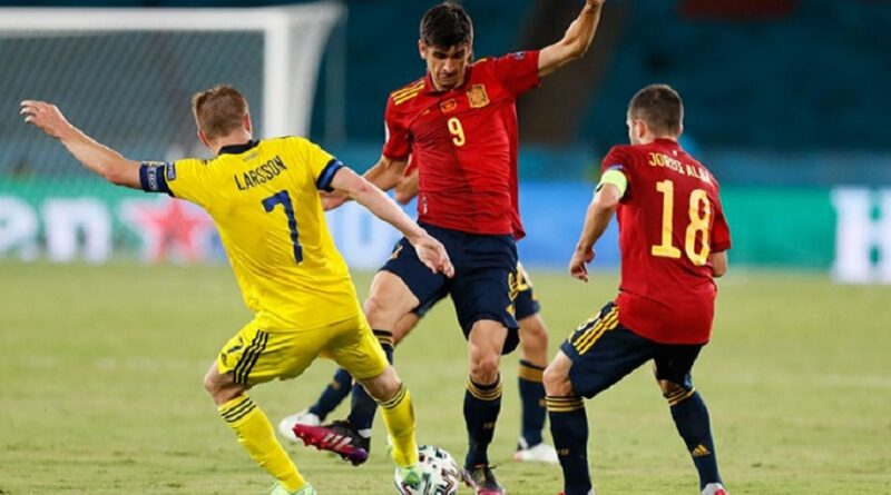 Švedska, Španija, EURO, 0-0