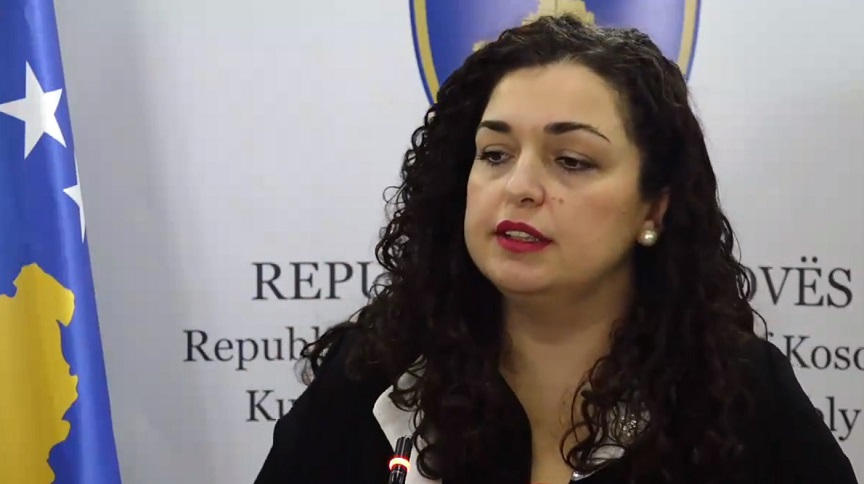 Vjosa Osmani, Kosovo, Nezavisnost