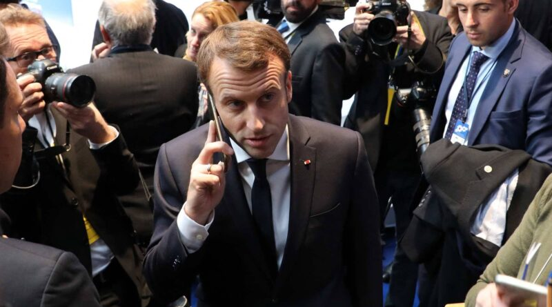 Emmanuel Macron asks for explanation from Israeli premier about Israeli spyware