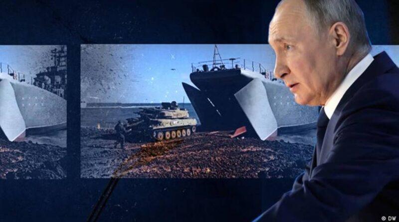 """Opasna Putinova """"doktrina"""" prema Ukrajini"""