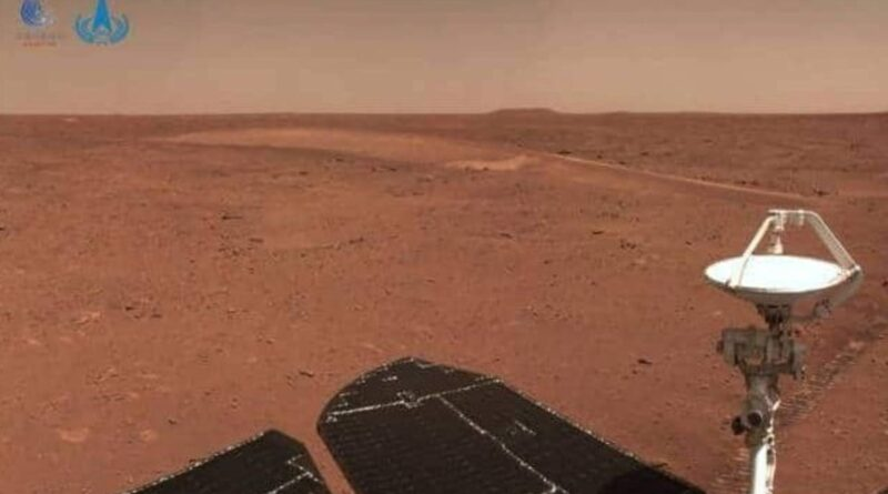 Kineski rover Džužung provozao se 410 metara po Marsu