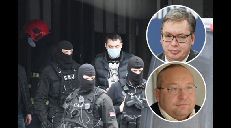 Vuletić: Najbolji Danilov drug bio veza Vučića i Belivuka