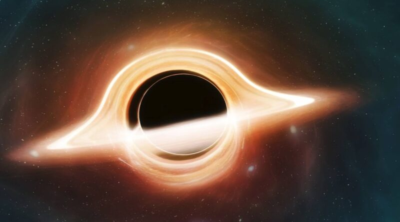 Light from behind a black hole was spotted for 1st time, proving Einstein right