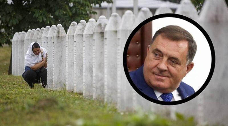 Milorad Dodik ponovo je zanijekao kako je u Srebrenici 1995. počinjen genocid nad Bošnjacima
