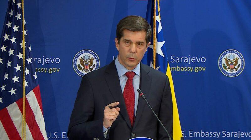 Ambasada SAD u BiH: Neprihvatljive pretnje u vezi sa raspadom države