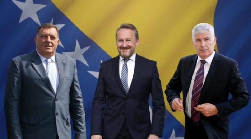 Dodik, Čović, Izetbegović, vladavina
