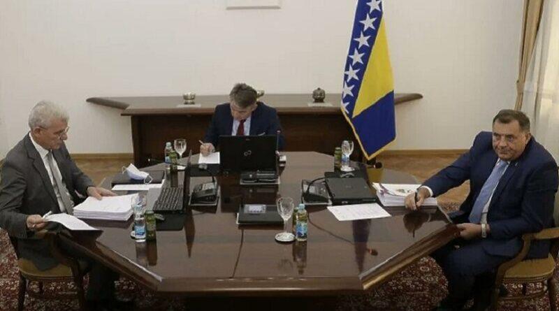 Dodik, Sjednica, Predsjedništvo-BiH,