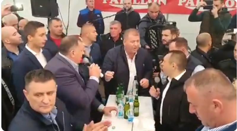Dodik, pjesma, pod Šatorom, Vulin, Stanivuković