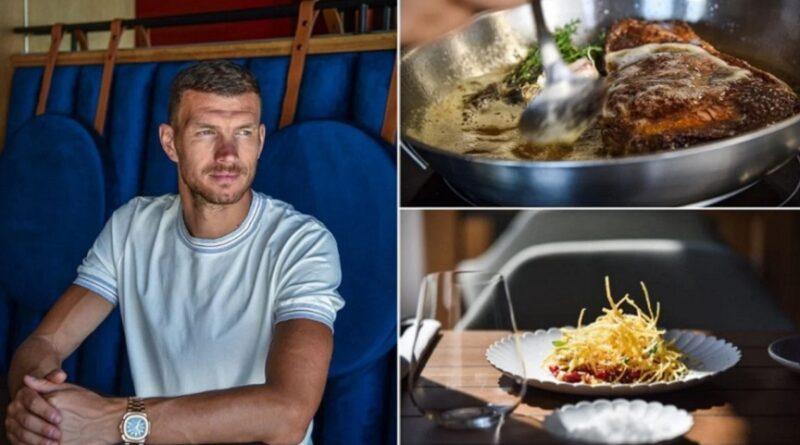 Edin Džeko, restoran, Dubrovnik