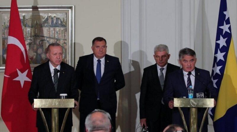 Erdogan, Predsjedništvo, sastanak