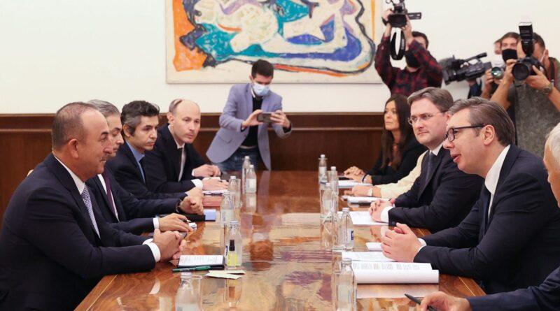 Mevlut Cavusoglu, sastanak, Aleksanda Vučić