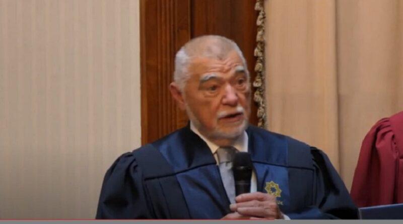 Stjepan Mesić, BANUK, Kulin Ban, počasna skupština