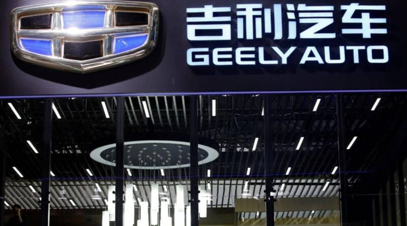 Chinese automaker Geely launches a high-end smartphone business