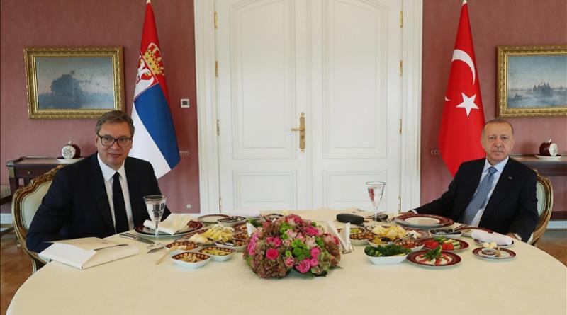 Aleksandar Vučić, Turska, Redžep Tajip Erdogan, sastanak
