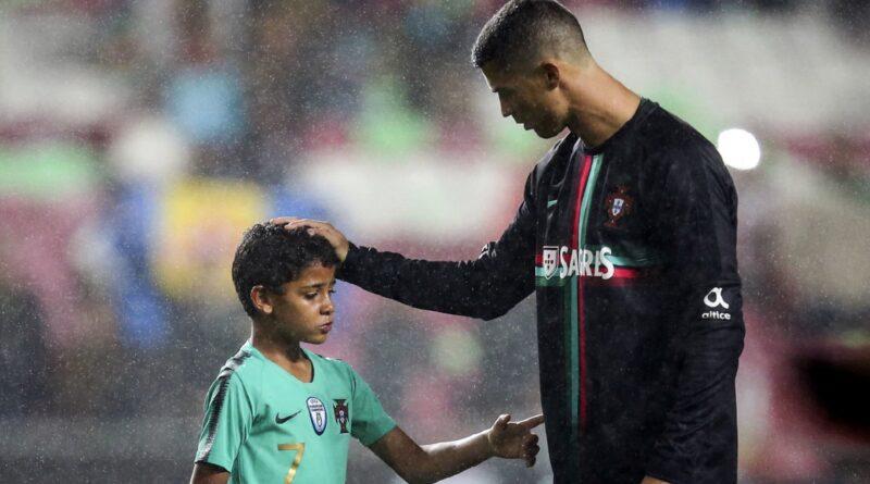 Cristiano Junior, Ronaldo, Manchester United