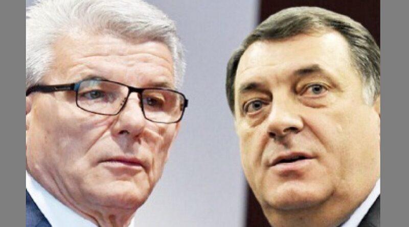 Dodik, Džaferović, Schmidt, Smjena, Blokada, Bled