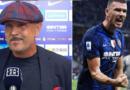 MIhajlović, Edin Džeko, meč , Inter, Bologna