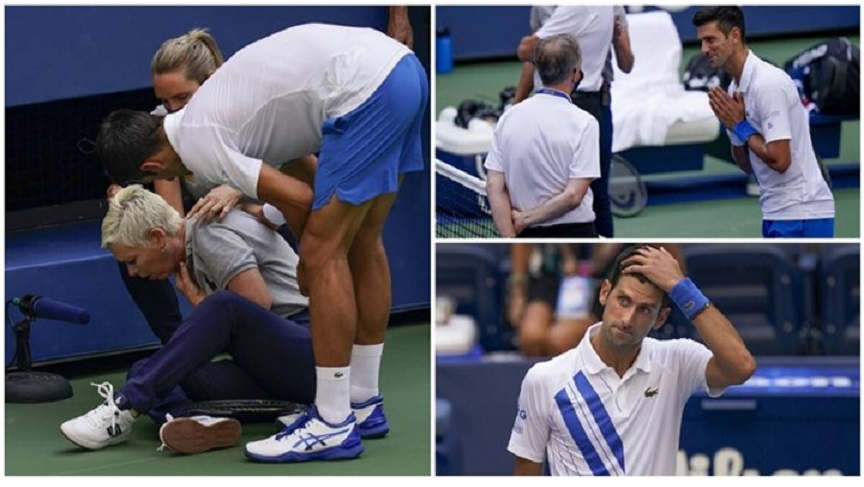 Novak Đoković, US open, diskvalifikovan