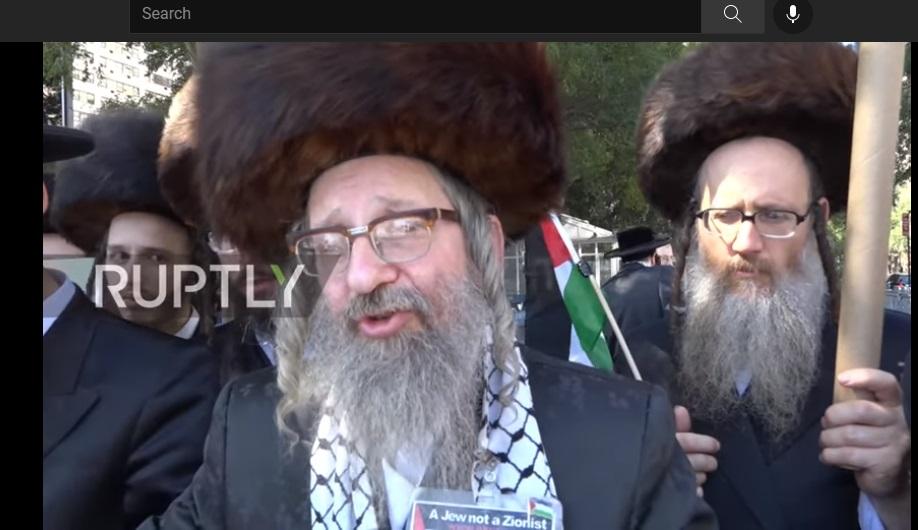 Ortodoksni jevreji, protest, New York, Palestina, Izrael
