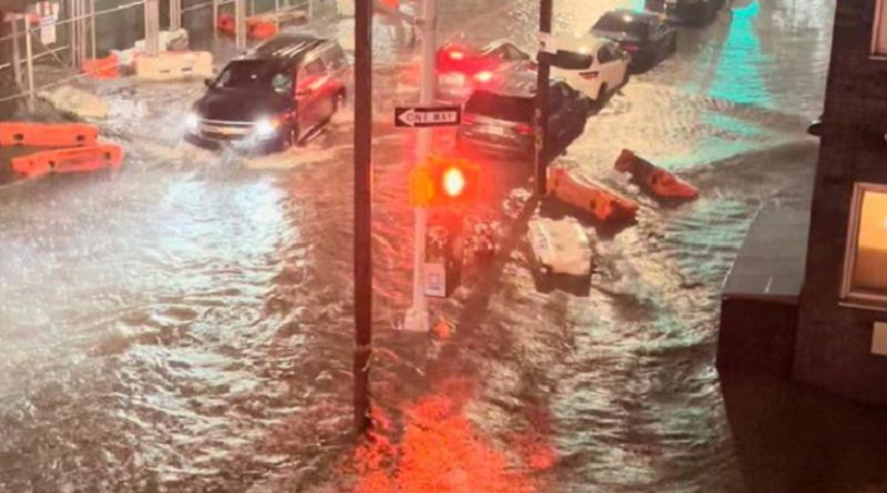 Padavine, New York, poplave