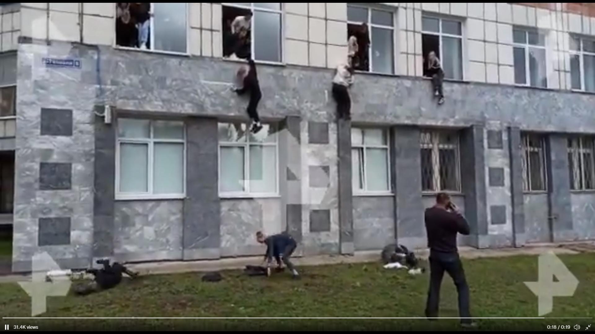 Rusija, napad, studenti
