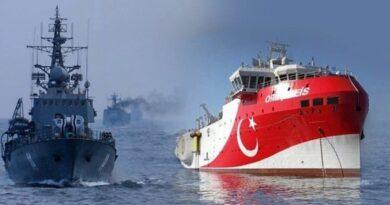 Turska fregata upozorila je grčko plovilo da ugrožava turski kontinentalni pojas
