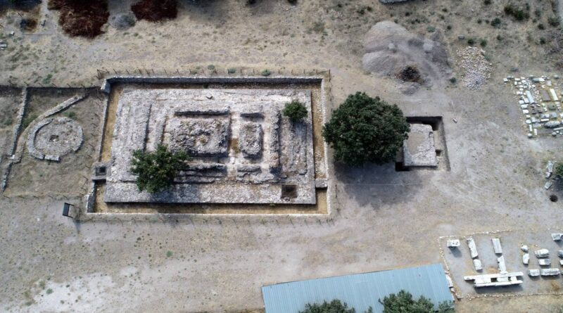 2,000-year-old altar found near northwestern Turkey's Çanakkale