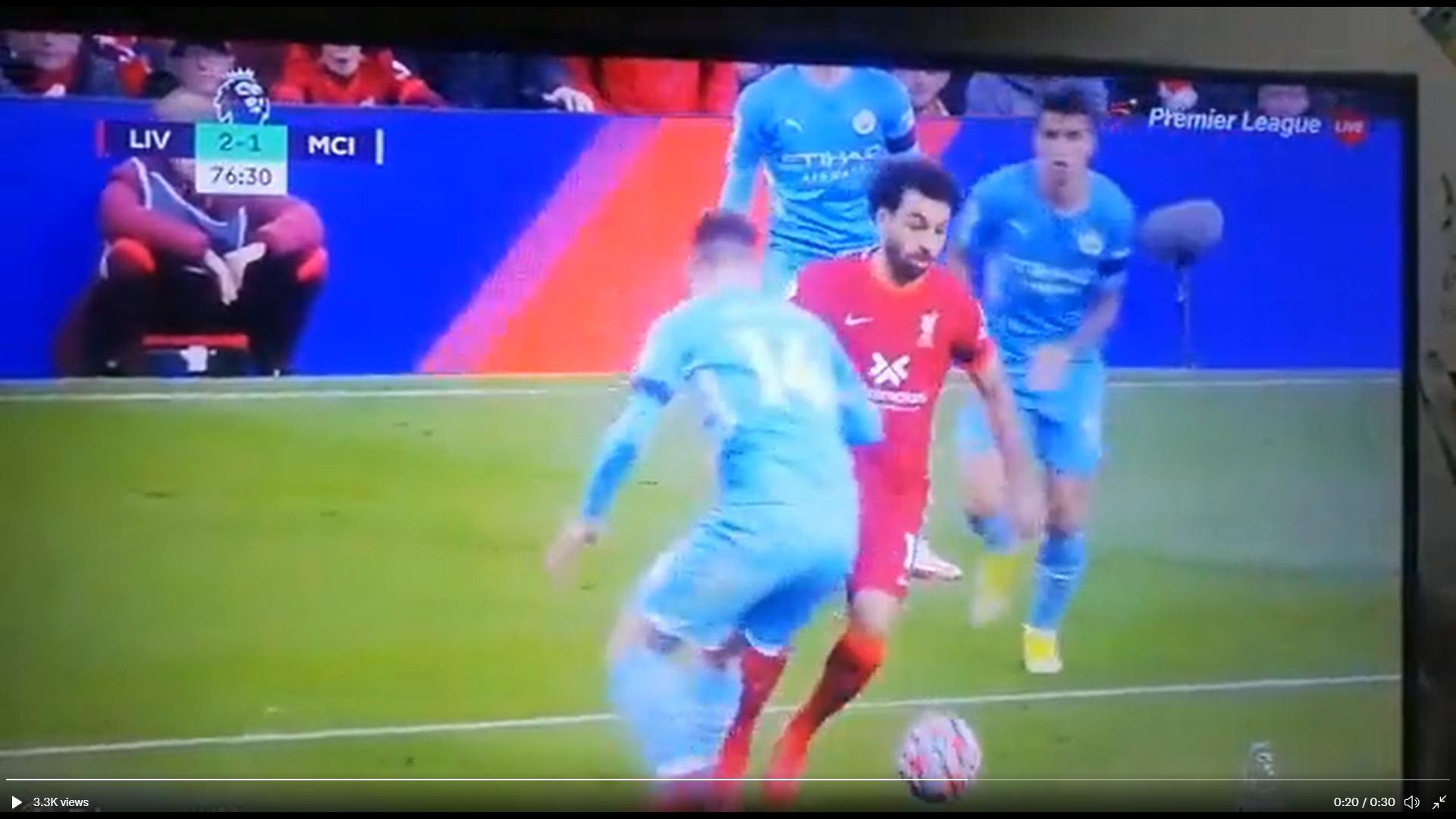 Salah, City, Liverpool, gol
