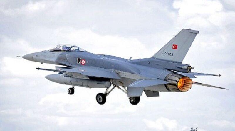 Turska, Borbeni avioni, Grčka, nadlijetanje